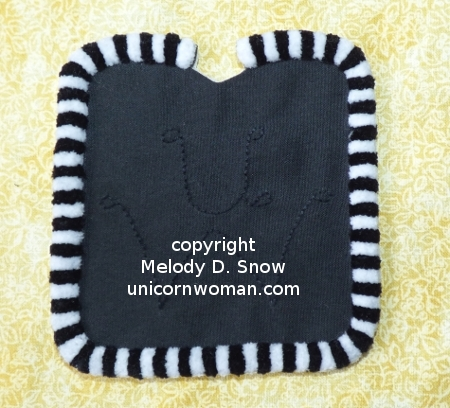 Scale Miniature Western Corona Saddle Pad by The Unicorn Woman