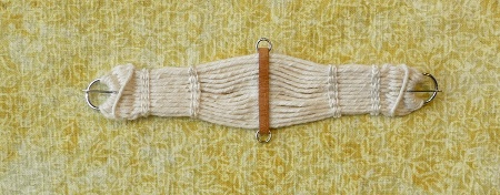 Scale Miniature Woven Roper Cinch by Melody D. Snow - unicornwoman.com