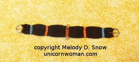 Scale Miniature Western Cinch by Melody D. Snow - unicornwoman.com