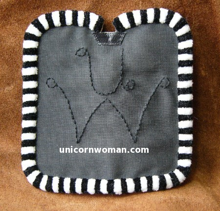 corona saddle pad